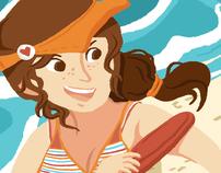 Bikini Fever 2012 : Lady and the Lil' Cub