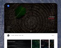 Portfolio website design | Free Psd