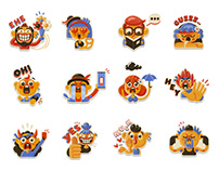 Mango Buddies Stickers Pack