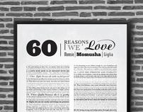 60 Reasons