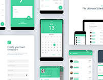 Timeateam App - Material Design