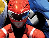 Power Rangers cover