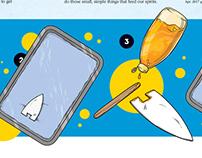 Instructional Illustrations for Kids