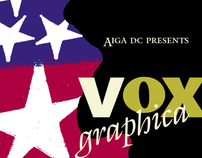 poster__Vox Graphica. AIGA
