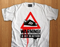 B-Boys In Action - t-shirt