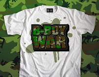 B-Boy War - t-shirt