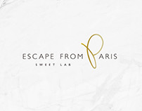 Identity Design : Escape from Paris 芙芙法式甜點