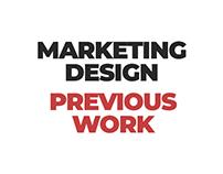 Marketing Design Previous Work
