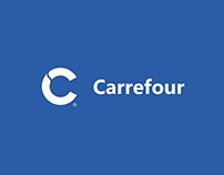 Carrefour market rebranding