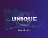 Stroke Gradient Effect - Adobe Illustrator
