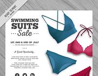 Realistic Summer Sale Flyer II | Designed for Freepik