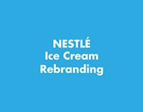 Nestle Ice Cream POSM Rebranding