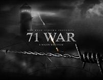 71 WAR Film poster