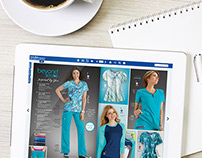 Scrubs & Beyond catalog app