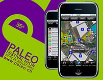 MyFest Paleo - POIs et tchat géolocalisé, iOS, Android