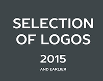 Logotypes. Selection 2015.