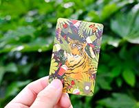 Rainforest | illustration for Starbucks Card