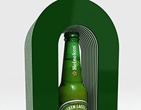HEINEKEN- glorificador de botella