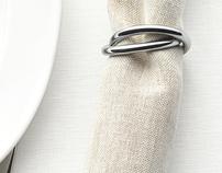 Alessi | Oui - napking ring | Andrea Incontri design