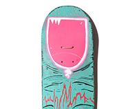 Skate Art @matdisseny • Dedo Verde