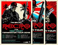 """Necro """"The Terminator Tour"""""""