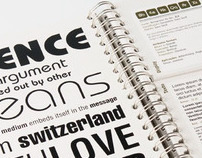 Catálogo Combinações Tipográficas