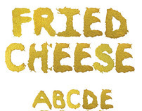 New Font - Fried Cheese