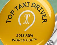 Значок для московских таксистов