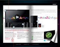 Sony Digital Magazine concept