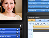 HP TouchSmart Dashboard concept