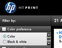 HP Printer Selector application
