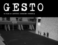 Graphic review of movie poster of movie Gesto