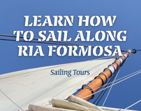 Learn How to Sail Along Ria Formosa poster for Bolina