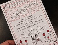 Our-Wedding Invitation, 2015