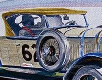 Vintage Racecar Art History Page