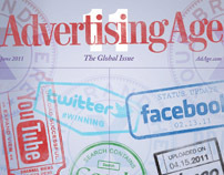 Advertising Age Global Cover Design 2011
