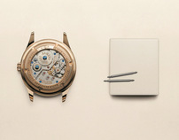 Armand Nicolet | Watches still-life