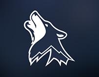 Timpanogos Timberwolves Logo Design