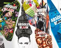 ABSOLUT - various web materials