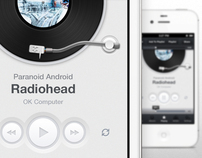 Music App UI (iPhone)
