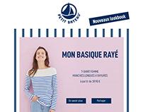 Petit Bateau - Newsletter