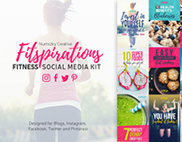 Fitspirations- Social Media KIT