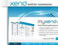 XEND Website Design Studies