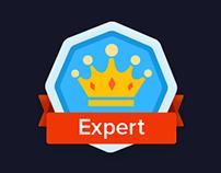 Award icons concept