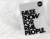 False snow for real people