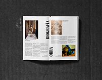 Magazine Project | Eduardo Naranjo (Pintor, Monesterio)