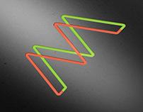 MM logotype concept.