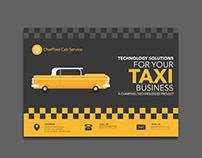 Taxi App Brohure