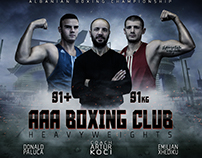 Boxing Fight Poster
