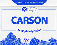 Carson Complete Typeface